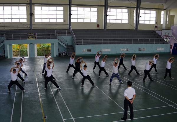 Kiểm tra công tác huấn luyện thể lực và hoạt động thể thao của Học viện Hải quân