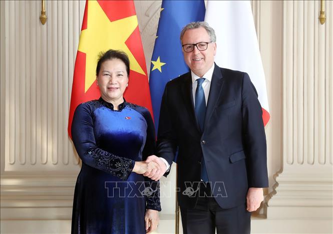 Thúc đẩy mạnh mẽ hơn nữa quan hệ đối tác chiến lược Việt Nam - Pháp