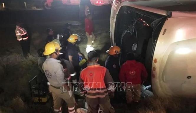 Mexico: Tai nạn xe khách thảm khốc, gần 40 người thương vong
