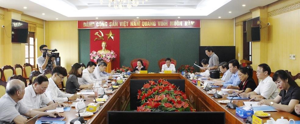 Hỗ trợ hoạt động cho Liên hiệp các tổ chức hữu nghị tỉnh Thái Nguyên