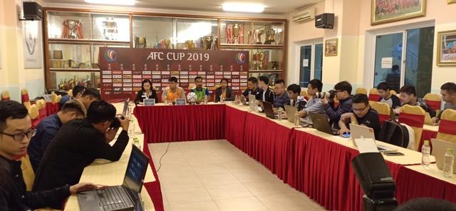 AFC Cup 2019: 19 giờ hôm nay, Hà Nội FC gặp Yangon United