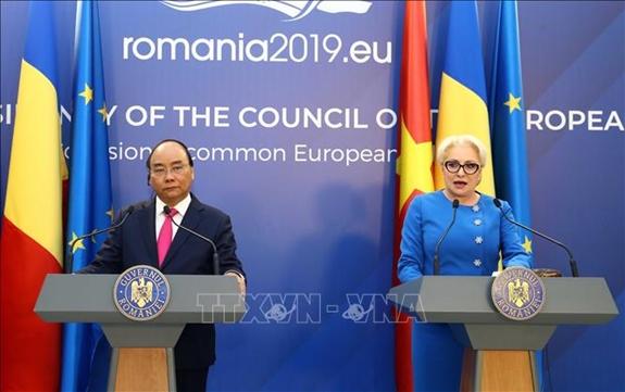 Romania ủng hộ việc sớm ký kết, phê chuẩn EVFTA và IPA