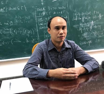 """TS Toán học Lê Quý Thường: """"Toán học với tôi luôn là một môn thể thao trí tuệ"""""""