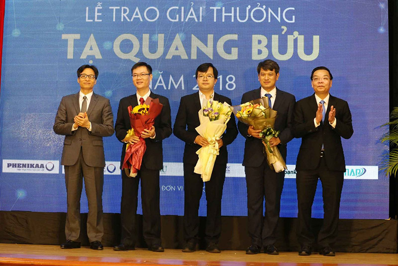 Trao giải thưởng Tạ Quang Bửu năm 2019 cho 3 nhà khoa học