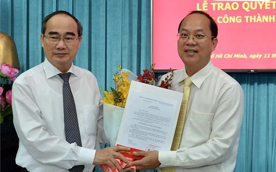 Đồng chí Nguyễn Hồ Hải giữ chức Trưởng ban Ban Tổ chức Thành ủy TP Hồ Chí Minh