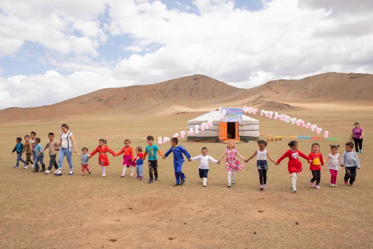 50% trẻ em trong lứa tuổi mầm non trên thế giới không được đến trường