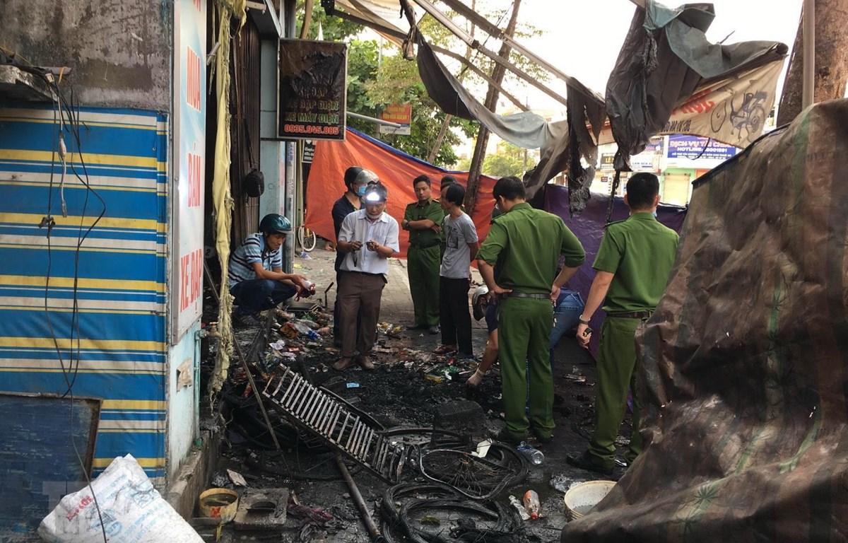 Huế: Hỏa hoạn tại cửa hàng xe máy điện, ba người thiệt mạng