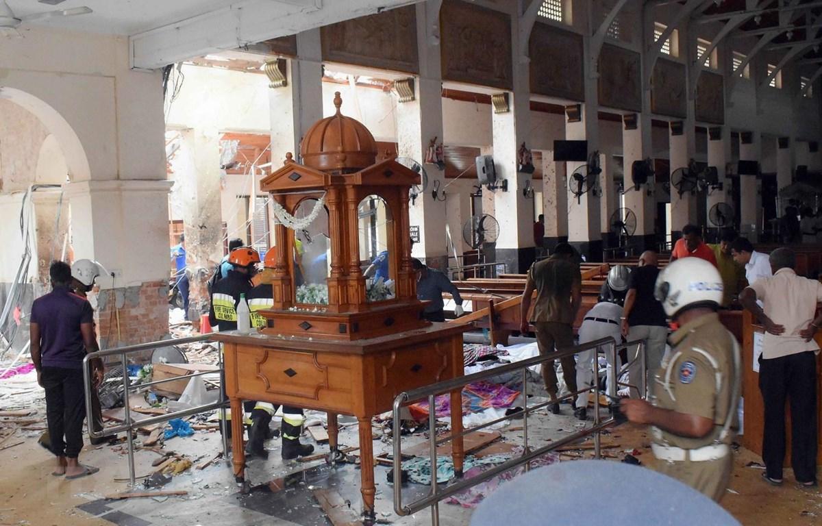 Lại nổ xe tải gần nhà thờ ở thủ đô Colombo của Sri Lanka