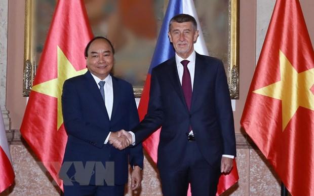 Truyền thông Séc: Chuyến thăm của Thủ tướng Nguyễn Xuân Phúc tạo động lực thúc đẩy hợp tác trong tương lai  