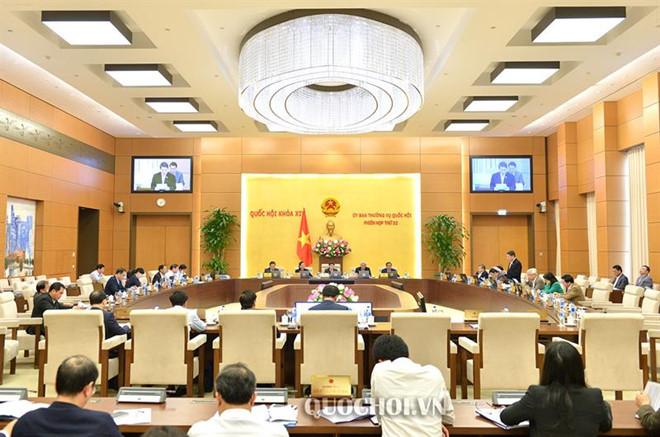 Phân công chuẩn bị Phiên họp thứ 34 của Ủy ban Thường vụ Quốc hội tại Phiên họp