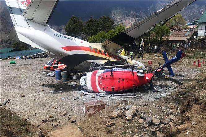Nepal: Va chạm máy bay, ít nhất 2 người thiệt mạng