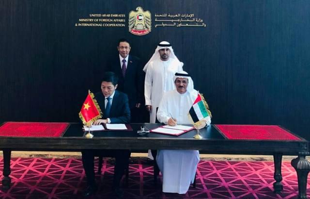 Kỳ họp lần thứ 4 Ủy ban liên Chính phủ Việt Nam – UAE