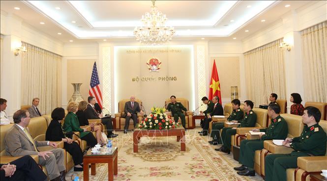 Hợp tác quốc phòng Việt Nam - Hoa Kỳ ngày càng phát triển tốt đẹp