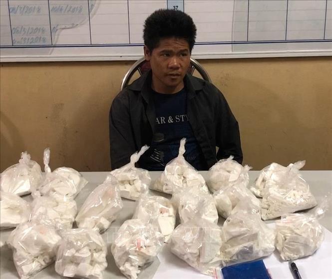 Phá thành công chuyên án ma túy lớn, thu giữ 20 bánh heroin