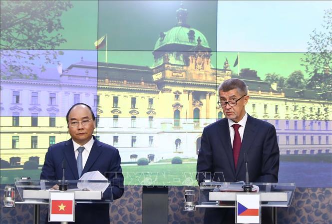Thúc đẩy hợp tác song phương trên nhiều lĩnh vực giữa Việt Nam và Cộng hòa Séc