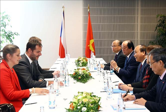 Tăng cường mở rộng hợp tác với Cộng hòa Séc