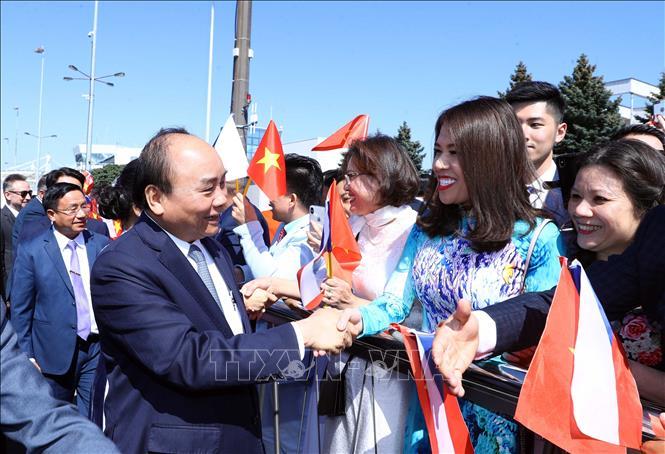 Thủ tướng Nguyễn Xuân Phúc bắt đầu thăm chính thức Cộng hòa Séc