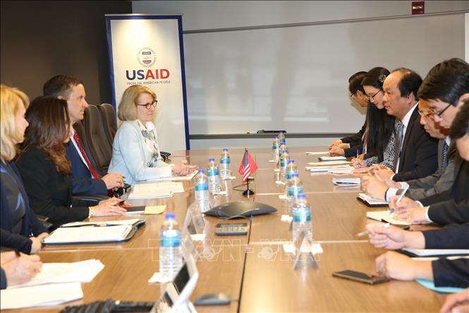 Thúc đẩy hợp tác hơn nữa giữa Việt Nam và Cơ quan Phát triển quốc tế Hoa Kỳ