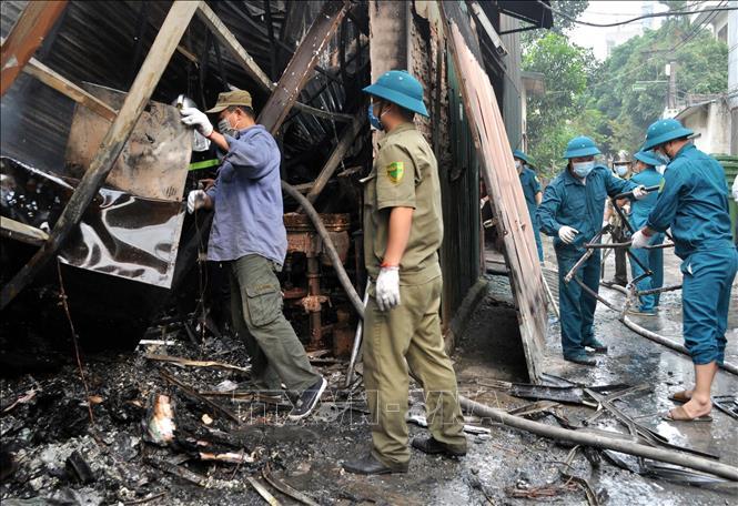 Vụ hỏa hoạn tại Trung Văn, Hà Nội: Khu nhà xưởng xảy ra hỏa hoạn nằm trên đất lấn chiếm