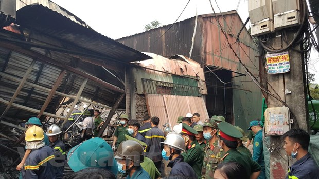 """Vụ hoả hoạn tại Trung Văn (Hà Nội): Khởi tố vụ án """"Vi phạm quy định về phòng cháy chữa cháy"""""""