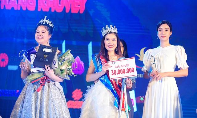"""Bế Thị Băng giành ngôi vị cao nhất """"Vẻ đẹp vầng trăng khuyết"""" 2019"""