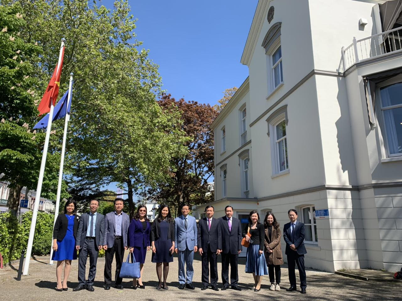 Đoàn Uỷ ban Pháp luật Quốc hội thăm làm việc tại Hà Lan