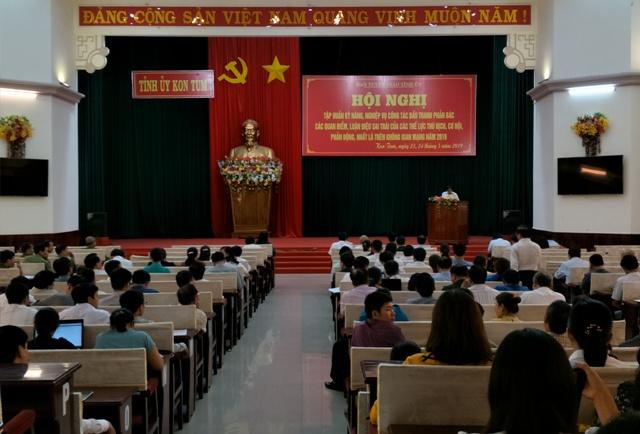 Kon Tum: Tập huấn công tác đấu tranh phản bác các quan điểm, luận điệu sai trái