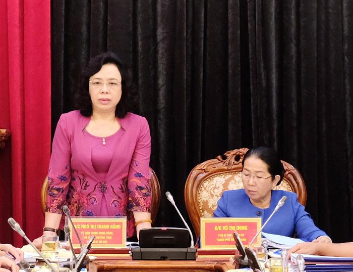 Thành ủy Hà Nội và Thành ủy TP Hồ Chí Minh chia sẻ kinh nghiệm công tác xây dựng Đảng