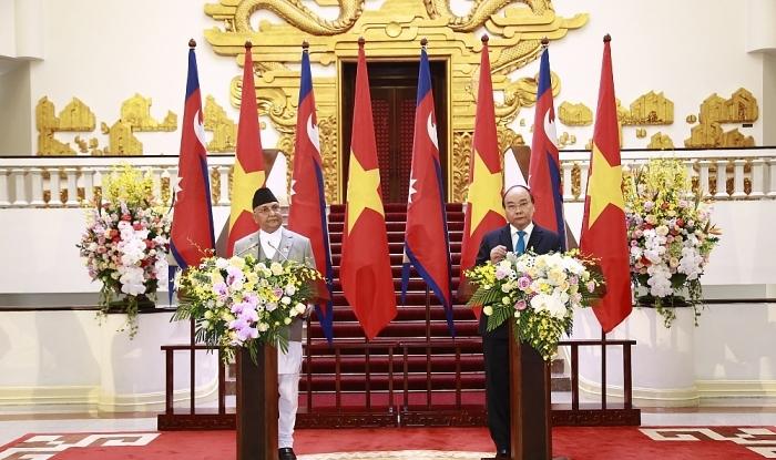 Tuyên bố chung Việt Nam - Nê-pan