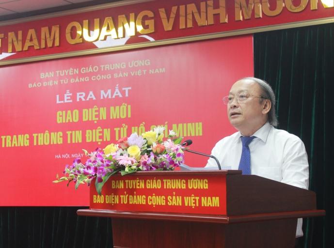 Trang Thông tin điện tử Hồ Chí Minh là kênh thông tin chuẩn mực, tin cậy của Đảng