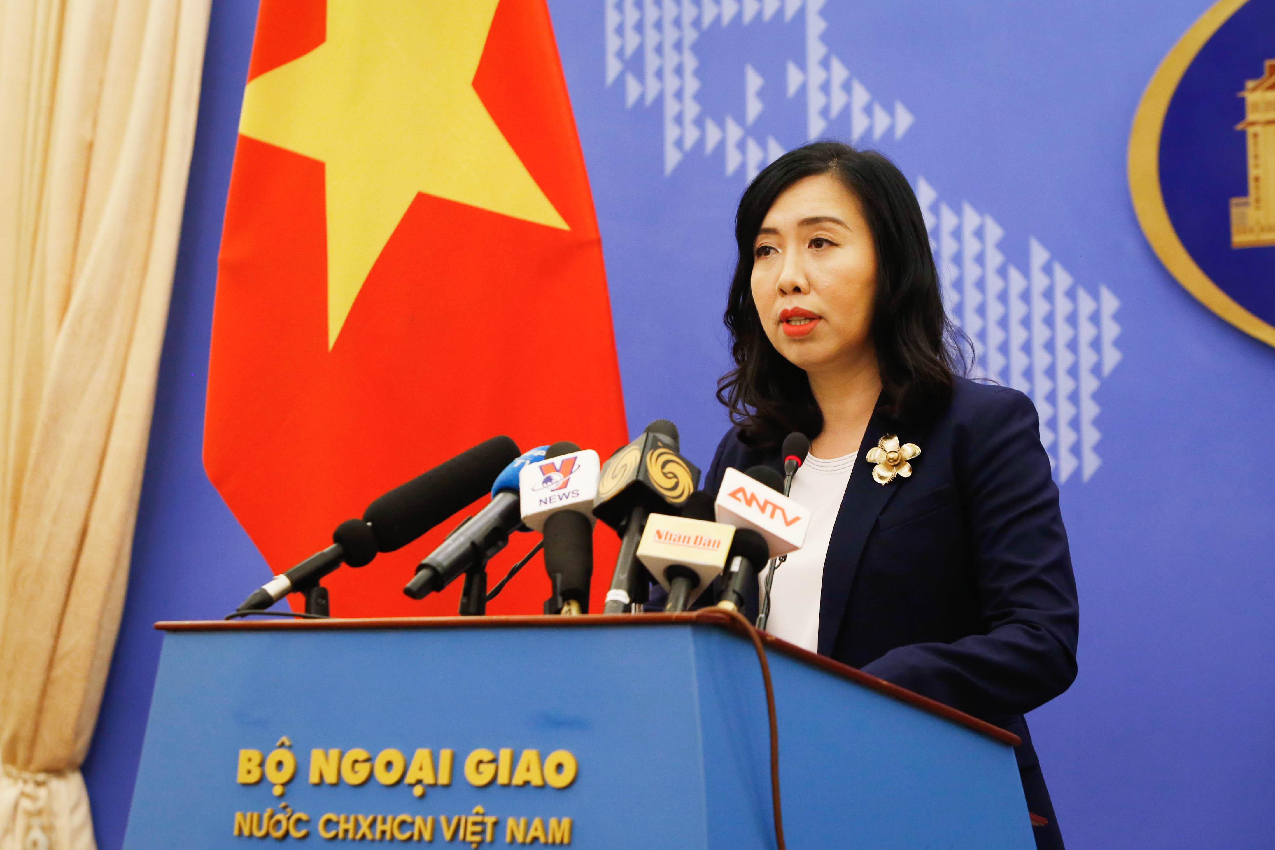 Đề nghị Trung Quốc tôn trọng chủ quyền của Việt Nam với hai quần đảo Hoàng Sa, Trường Sa