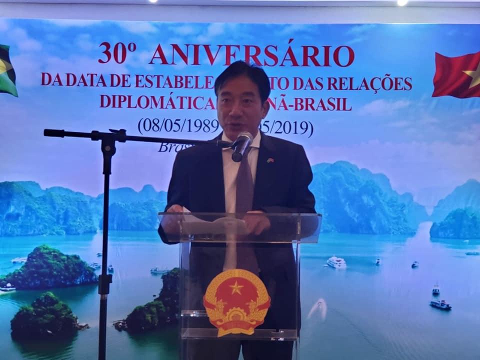 Làm sâu sắc hơn quan hệ hữu nghị, hợp tác giữa Việt Nam và Brazil