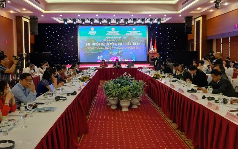 Việt Nam và Lào tăng cường truyền thông về du lịch