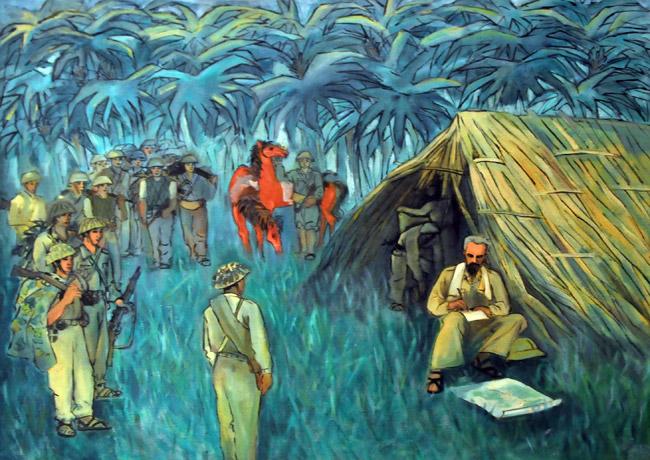Điện Biên Phủ qua góc nhìn hội họa