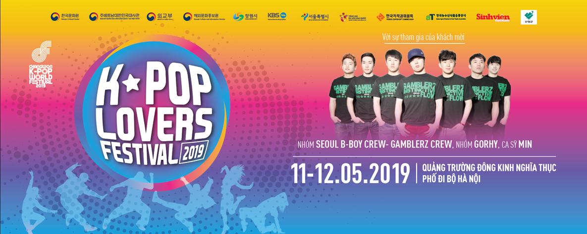 Vòng loại Changwon K-pop World Festival 2019 tại Việt Nam