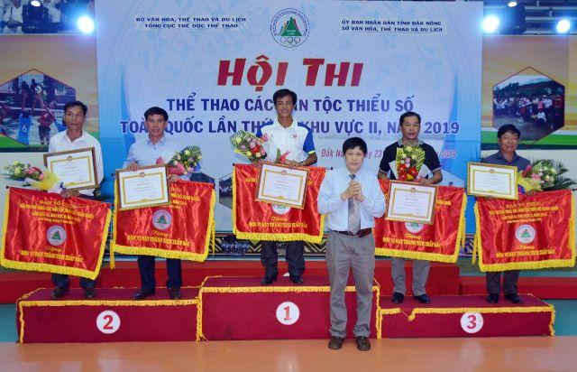 Đắk Lắk giành ngôi nhất toàn đoàn Hội thi thể thao các dân tộc thiểu số toàn quốc lần thứ XI, khu vực II