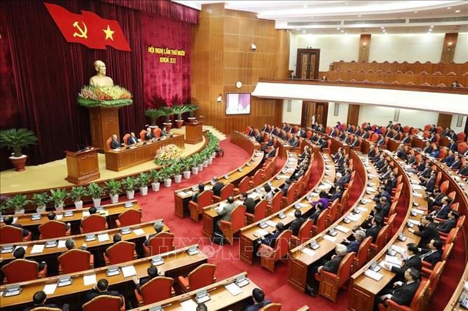 Thông báo Hội nghị lần thứ mười, Ban Chấp hành Trung ương Đảng khóa XII