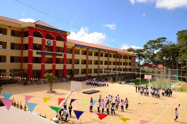 Lâm Đồng đầu tư hơn 100 tỷ đồng xây dựng thêm nhiều trường học mới