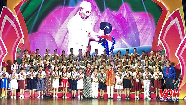 TP.Hồ Chí Minh tuyên dương 350 gương điển hình Cháu ngoan Bác Hồ