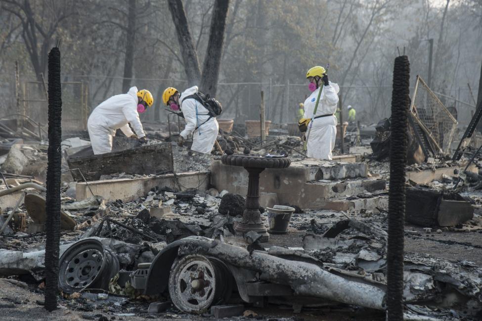Công bố nguyên nhân vụ cháy kinh hoàng tại bang California (Mỹ)