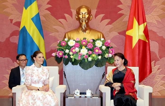 Việt Nam - Thụy Điển có quan hệ hữu nghị truyền thống và hợp tác nhiều mặt tốt đẹp