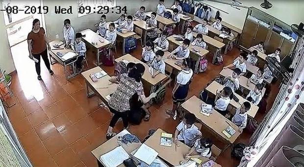 Vụ cô giáo đánh học sinh ở Hải Phòng: Xử lý kỷ luật tập thể và cá nhân
