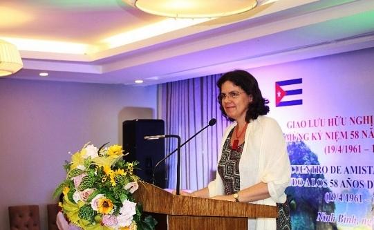Giao lưu hữu nghị Việt Nam - Cuba kỷ niệm 58 năm chiến thắng Hiron