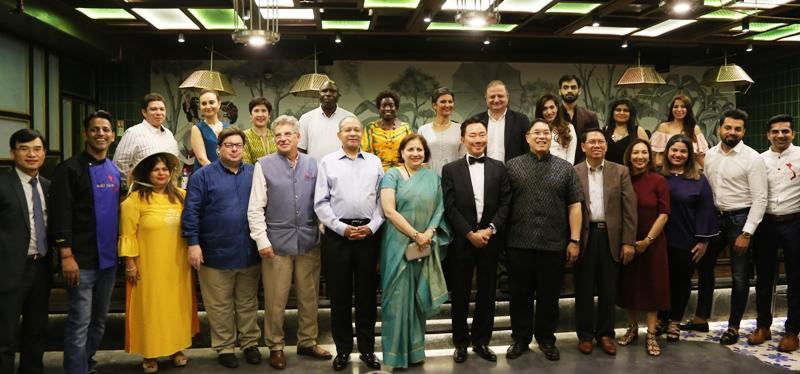 Quảng bá ẩm thực Việt Nam đến đại sứ các nước tại Ấn Độ