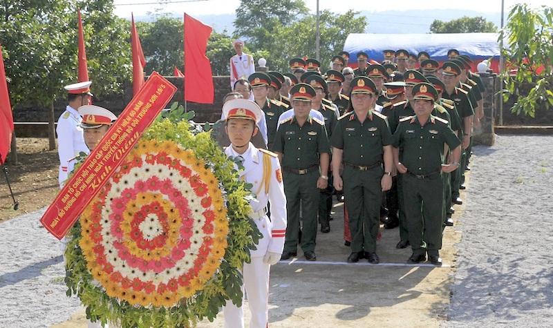 Dâng hương tưởng niệm khu Di tích lịch sử Quốc gia đặc biệt tại Đắk Nông