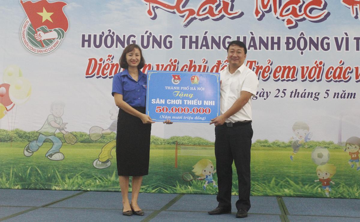 Hà Nội: Chung tay vì trẻ em nghèo, trẻ em dân tộc thiểu số