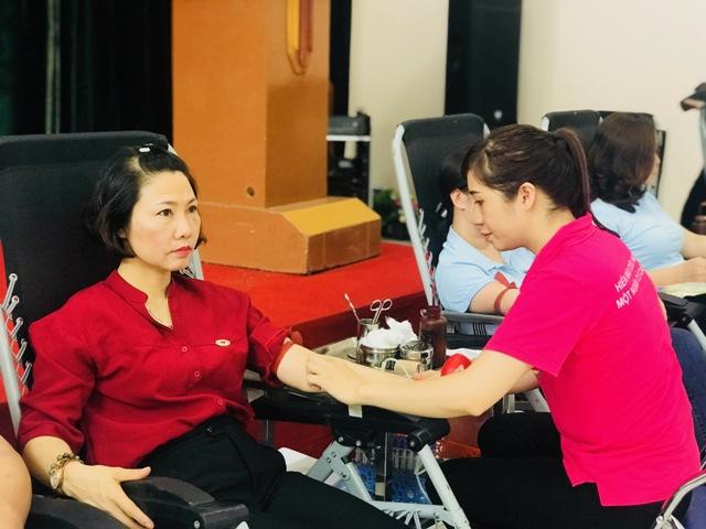 Thu về gần 400 đơn vị máu trong Ngày hội hiến máu tình nguyện 2019