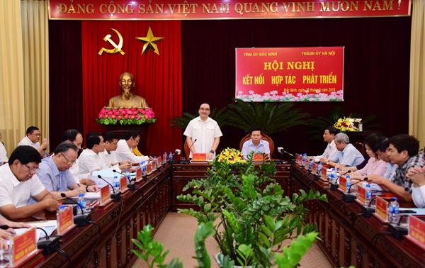 Hà Nội và Bắc Ninh tăng cường kết nối, hợp tác