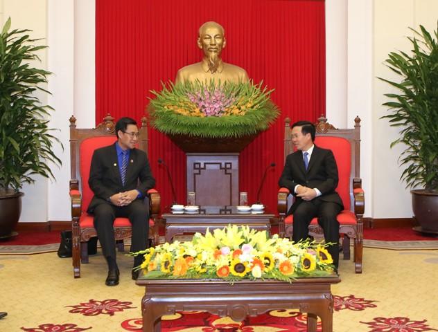Nâng cao chất lượng, hiệu quả các chương trình hợp tác thanh niên Việt Nam - Lào