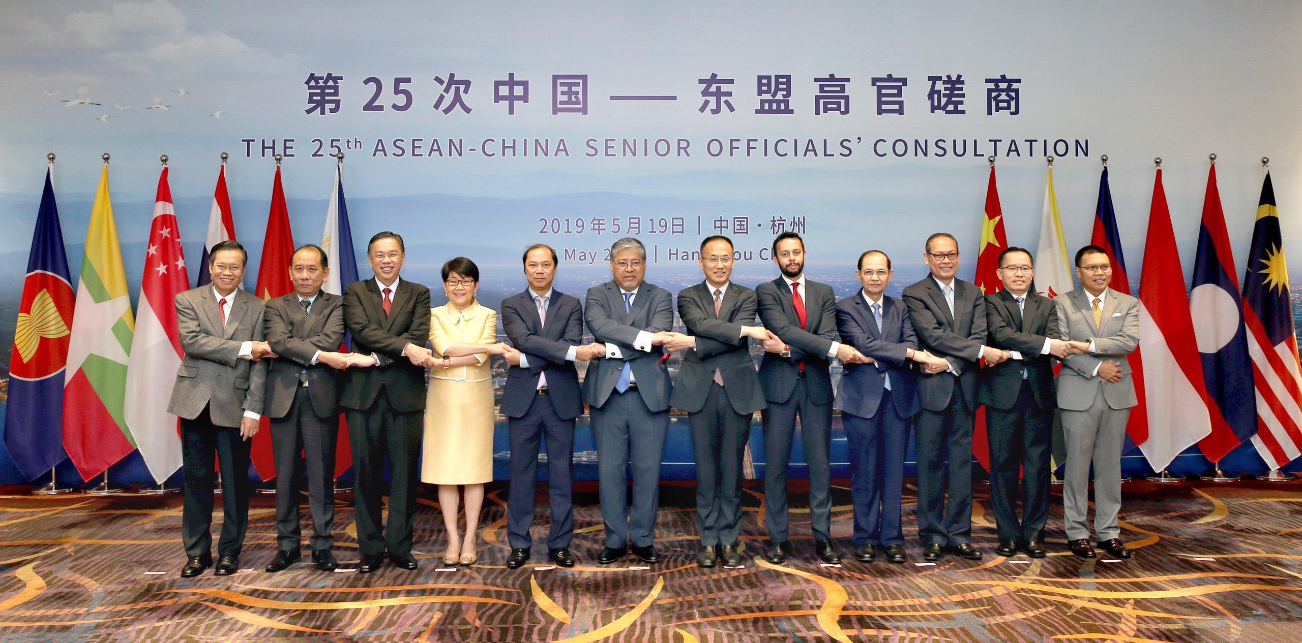 Tham vấn Quan chức cao cấp ASEAN-Trung Quốc